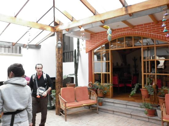 Hospedaje Casa Elena: cortile interno