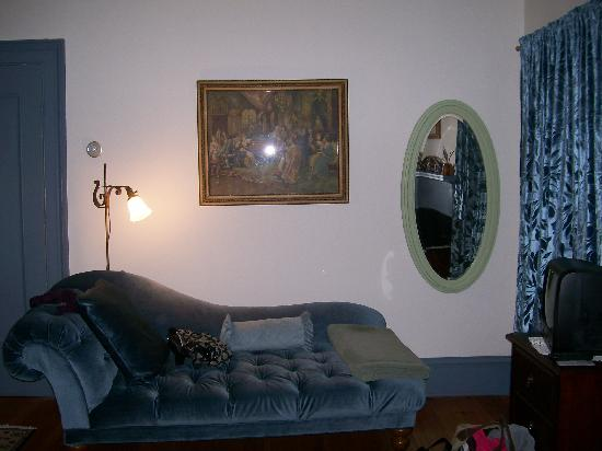 Cherryfield, ME : I loved the fireplace and how cozy the room was
