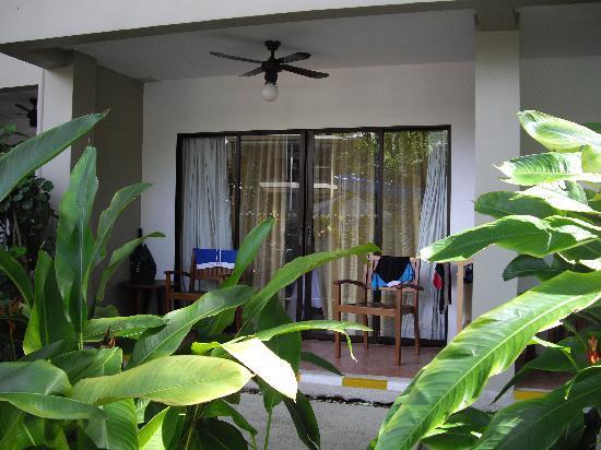 Novotel Phuket Surin Beach Resort. : Room Balcony on Ground Floor