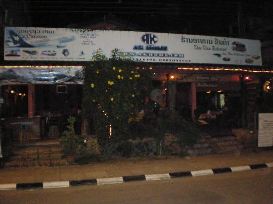 Khan Kham Restaurant: Front Entrance