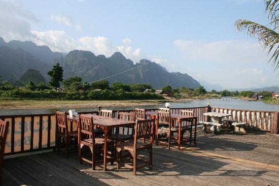 Sala Pha Deng: Patio Dining