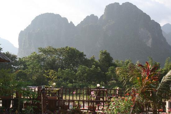 Sala Pha Deng: View