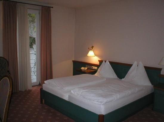 Stadthotel Styria: Single room with twin beds