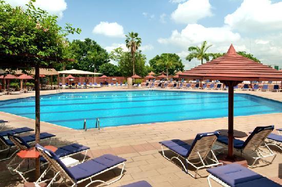 Transcorp Hilton Abuja-Outdoor Pool