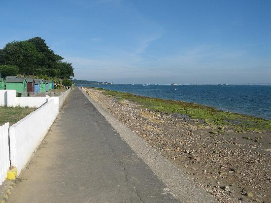 Bembridge, UK: 50 yards from the front door. 25th July 2010