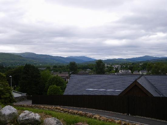 Fort William Backpackers: Views