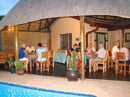 Leopard Corner Guest House: Leopard Corner can cater for even the largest of groups.