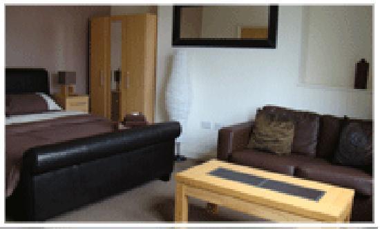 Hotel24seven Bristol: Deluxe Double Room