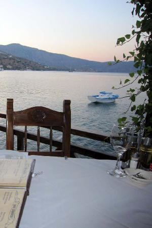 Olondi Restaurant: Olondi - View from our table