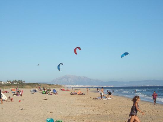 Manilva, Spanje: La plage de Tarifa, sable