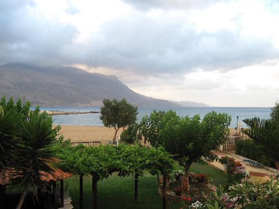 Hotel Apartments Gramvoussa Bay : View from Studio at Gramvoussa Bay Hotel