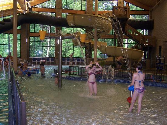 Nashville, IN: Lodge Pool