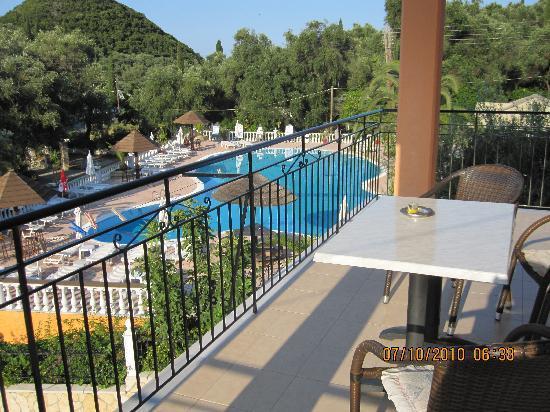 Marilena Studios View From Balcony
