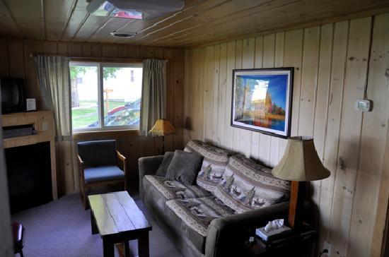 Sunrise Lodge: Wohnzimmer
