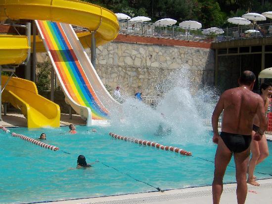 Alkoclar Adakule Hotel: Hotel's aqua park