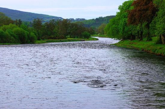 River Spey behind the Mash Tun