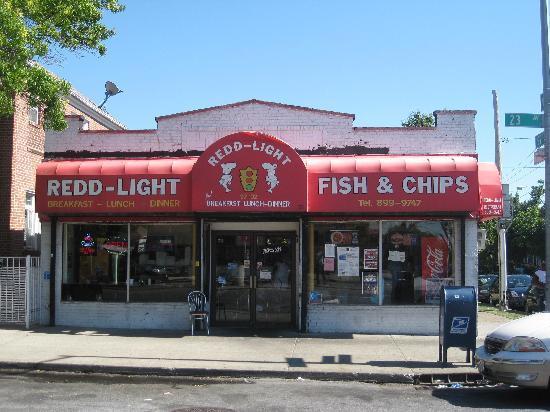 Redd Light Fish & Chips: Front