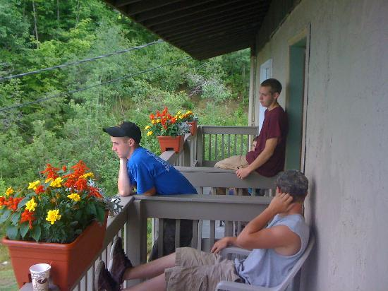 Lodge at Bromley: Our Balcony