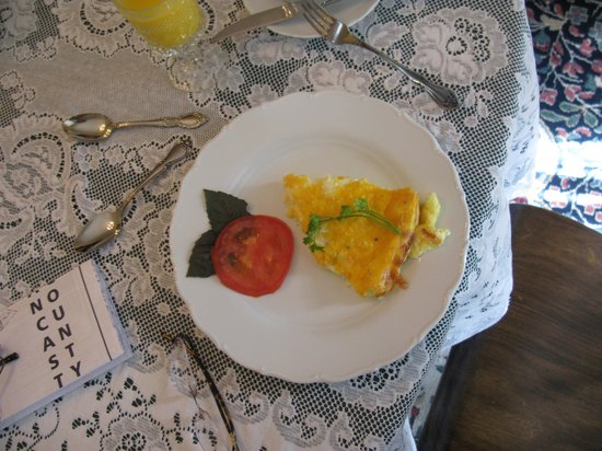 The Lancaster Bed and Breakfast : Part of my breafast