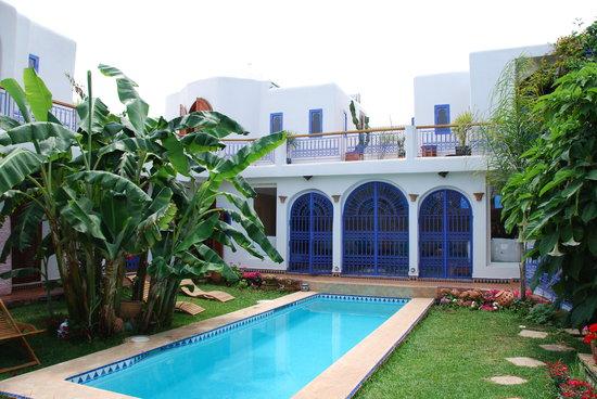 Bouznika, Maroko: Le jardin du riad