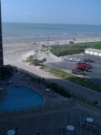 The Dunes Condominiums: Front porch view