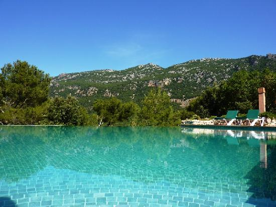 Finca Hotel Son Palou: The pool