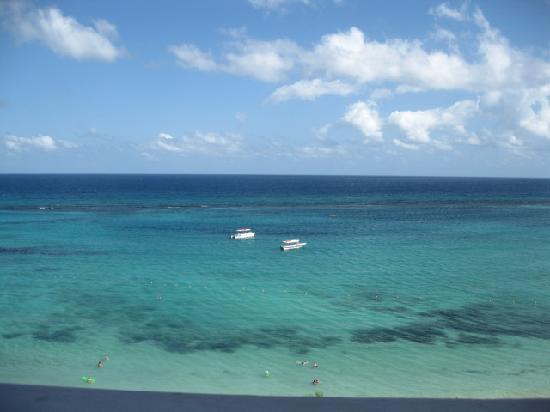 Ocho Rios, Jamaika: View from our room at The Riu