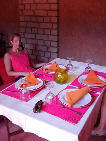 Kasbah Tiwaline: dining