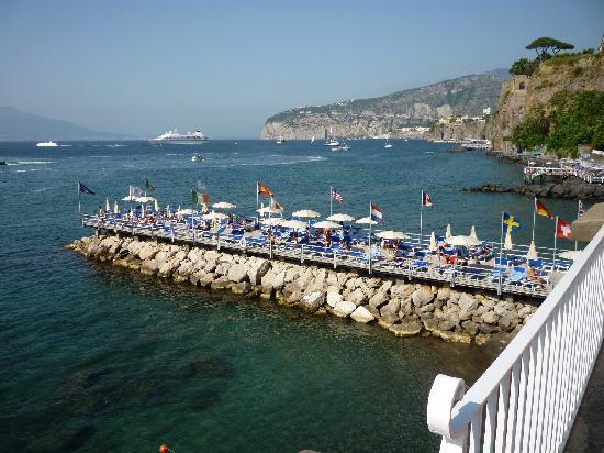 Jetty Picture Of Europa Palace Grand Hotel Sorrento Tripadvisor