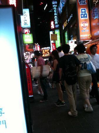 Lotte Hotel Seoul: 歩いて5分のミョンドン