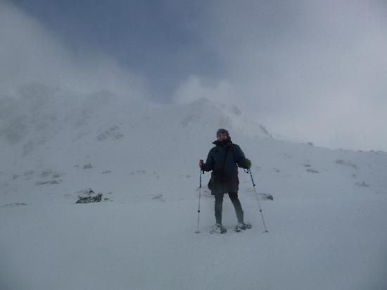 كوينز تاون, نيوزيلندا: Snowshoeing