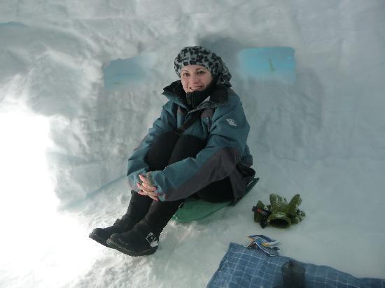 كوينز تاون, نيوزيلندا: Ice cave
