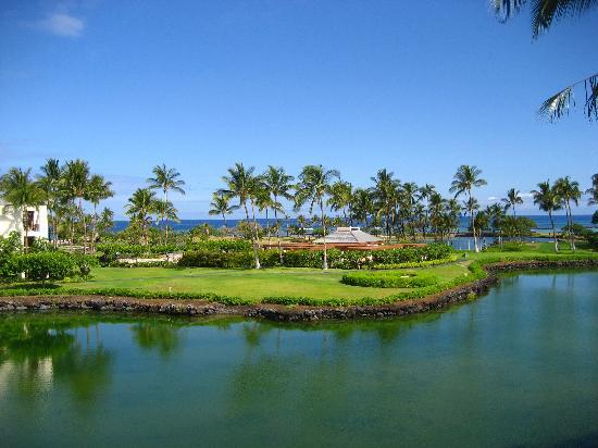 Mauna Lani Terrace Condominiums : ラナイから見た景色