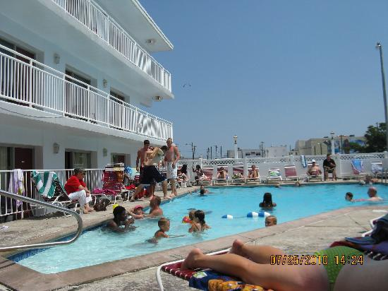 Pool Picture Of Pavilion Motor Lodge Ocean City