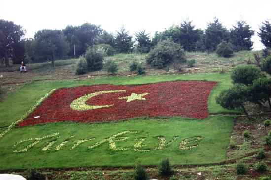Turkish flag Istanbul