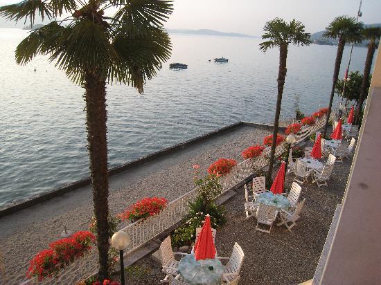 Hotel Rigoli : la plage privée