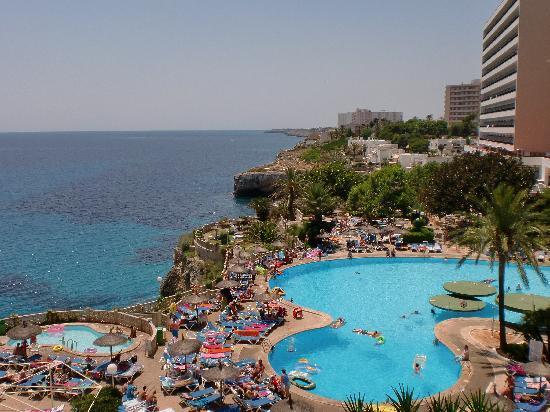 Complejo Calas de Mallorca : View from our balcony