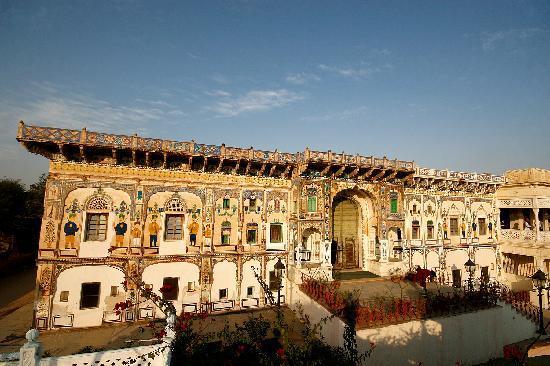 Alsisar, Indien: Facade