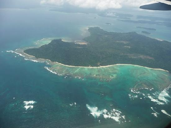 Aerial view picture of andaman and nicobar islands for Andaman and nicobar islands cuisine