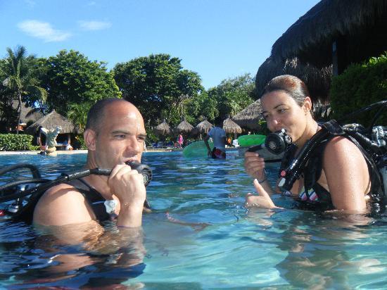 Iberostar Tucan Hotel: De buceo en la piscina
