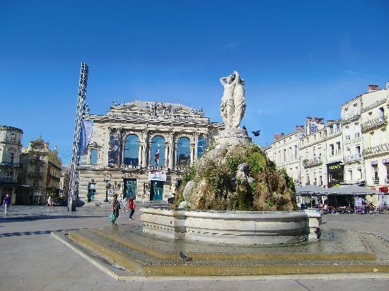 Montpellier, France: コメディー広場