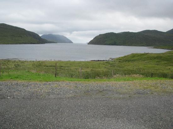 Loch Seaforth House B&B : View from the bedroom window.