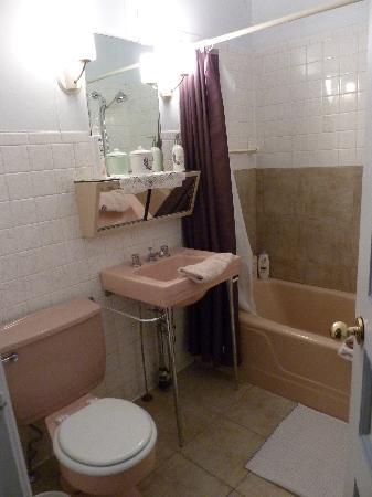 Notre salle de bain au gîte Chez Marie-Claire