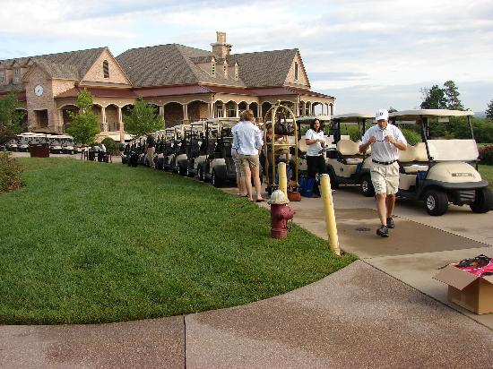 Lansdowne Resort and Spa: NVBTA Golf event