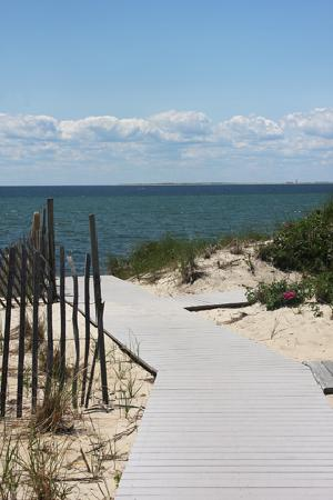 North Truro, MA: Walkway to Beach
