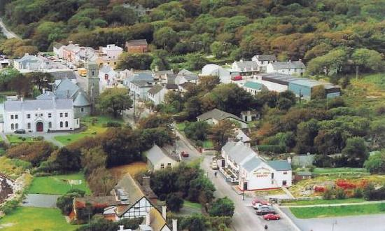 Ard Eoinin Spiddal Bed and Breakfast : Aerial view of Spiddal