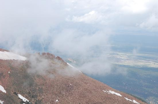 Pikes Peak - America's Mountain: views from about 12,500 feet