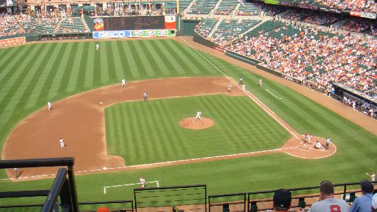 Oriole Park at Camden Yards: The field