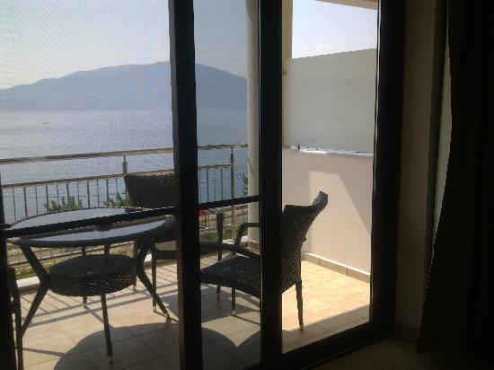 Agia Efimia, Greece: Our balcony
