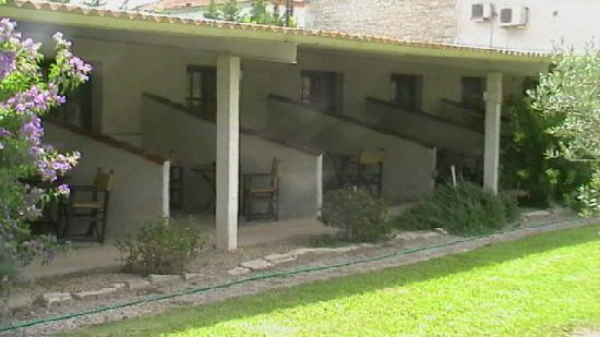 AUBERGE DU MAS D'ALIVON : les chambres